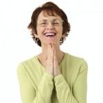 woman success at quitting smoking image