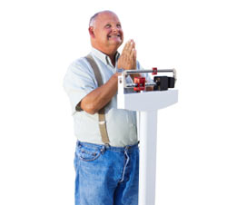 praying for weight loss image